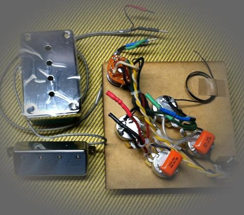 Rothstein Guitars \u2022 Prewired Gibson EB-3 Assemblies
