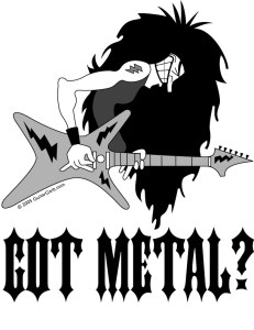 Hair metal guitar