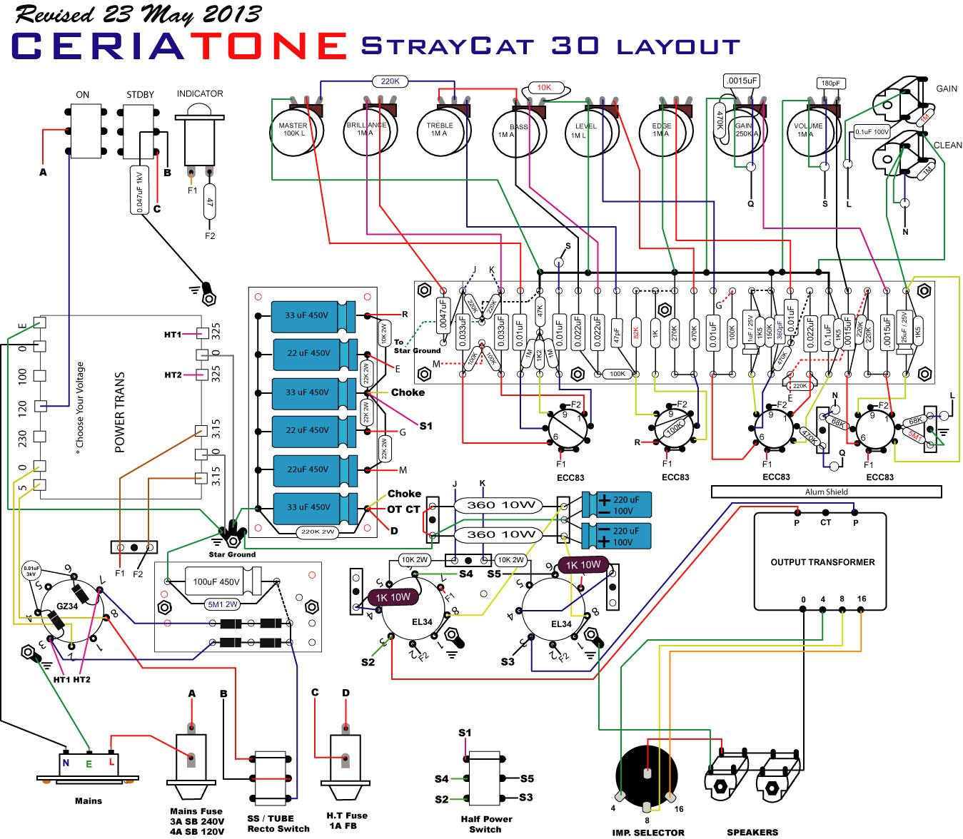 emg spc wiring diagram