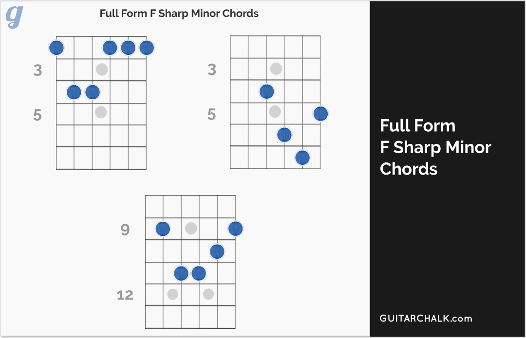 f sharp chord diagram