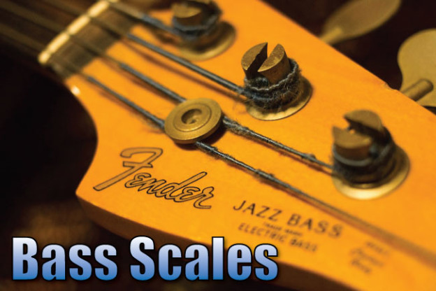 Bass Scales Complete Reference Diagrams, TAB  Notation