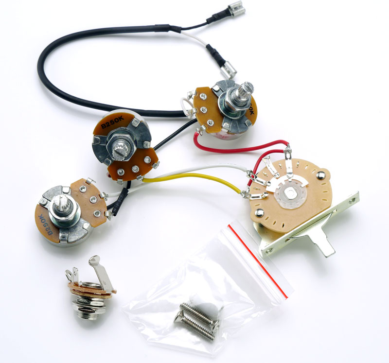 Strat® Complete Wiring Harness Pre-Assembled- USA Switch
