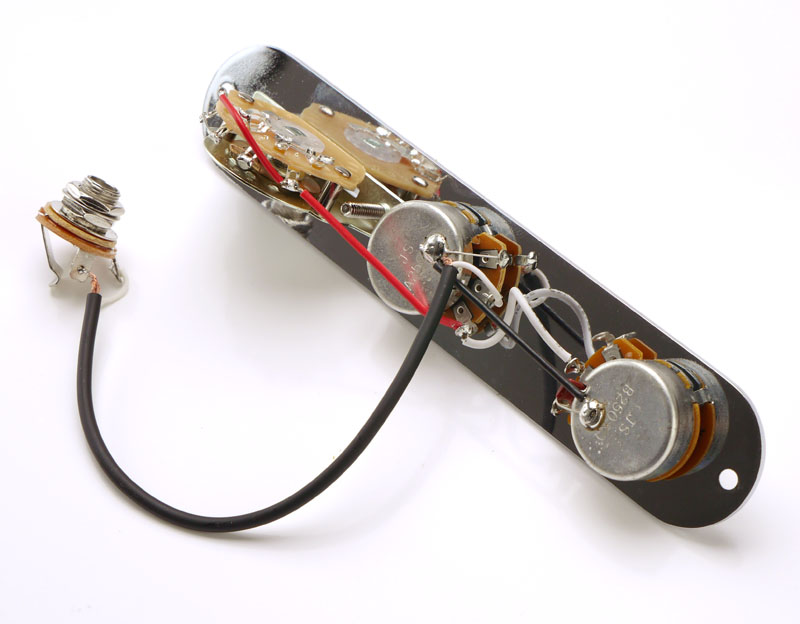 Telecaster® Humbucker Complete Wiring Harness Pre-Assembled- USA Switch