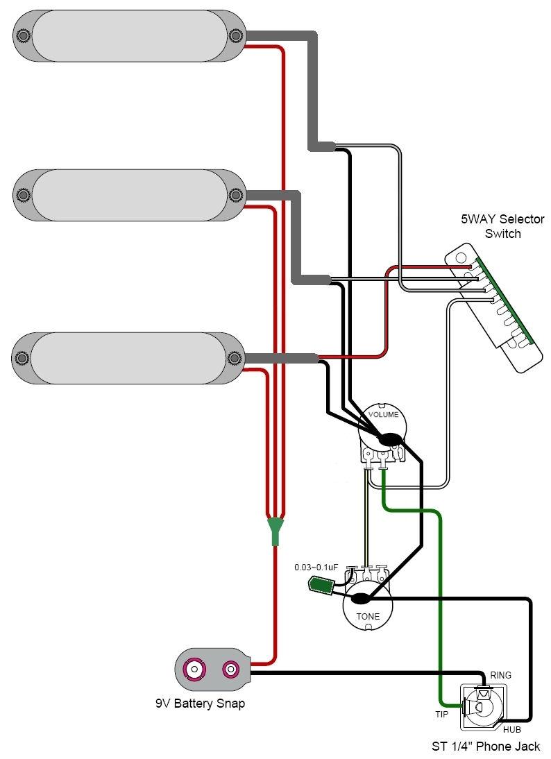 single coil 2 pots