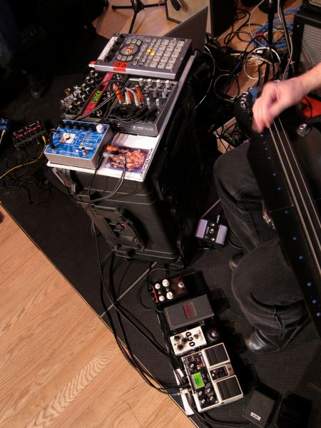 Pete Cosey Guitar Effects
