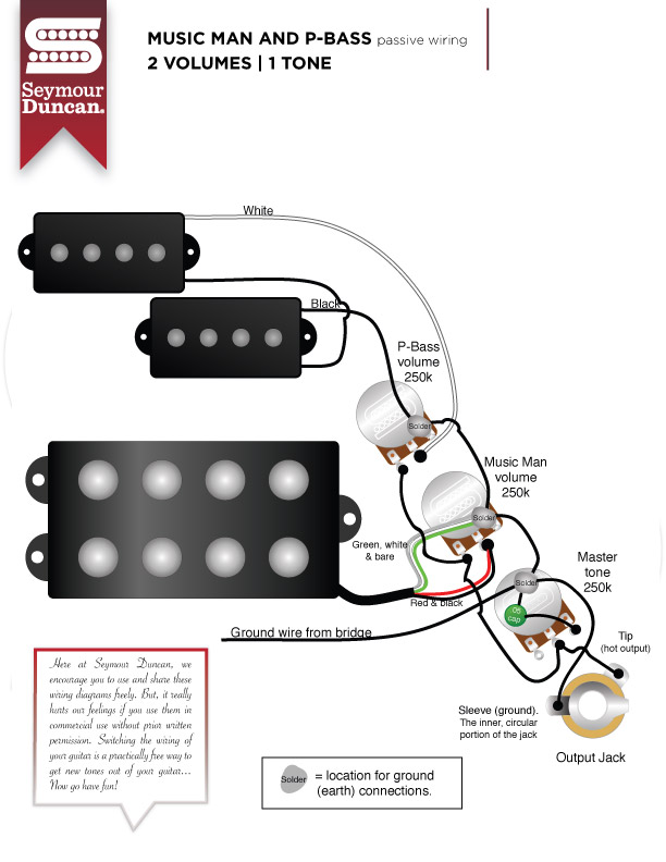Active B Pickup Wiring Diagram For Guitar Wiring Schematic Diagram