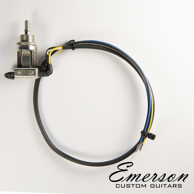 Guitarslinger Products Emerson Custom Prewired Toggle Switch 3 Way