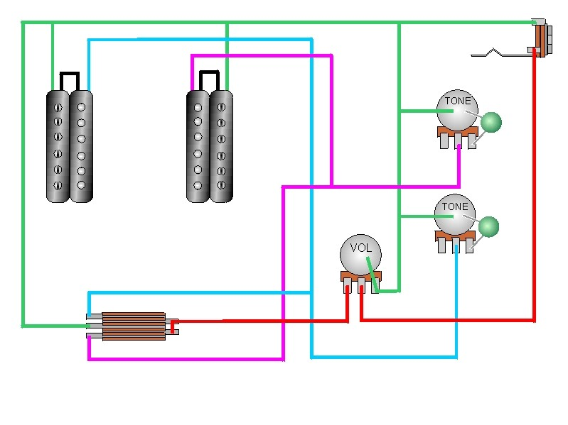 CRAIG\u0027S GIUTAR TECH RESOURCE - Wiring Diagrams