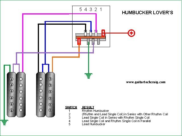 Dimarzio Humbuckers 5 Way Switch Wiring Help Jemsite Index listing