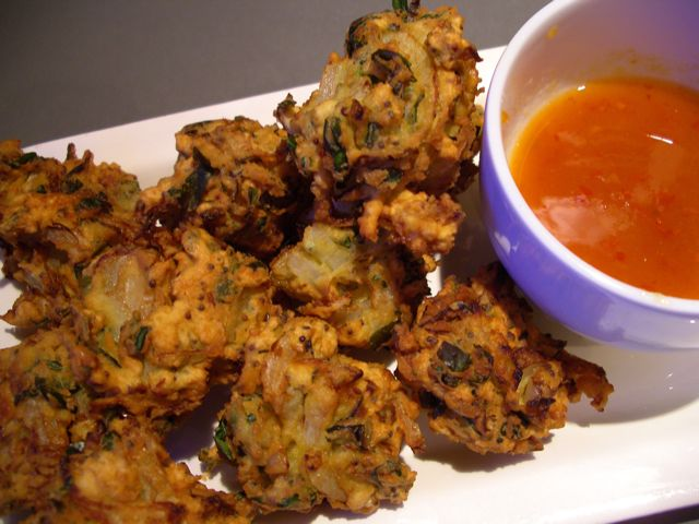Methi Vada (Fenugreek Fritters)