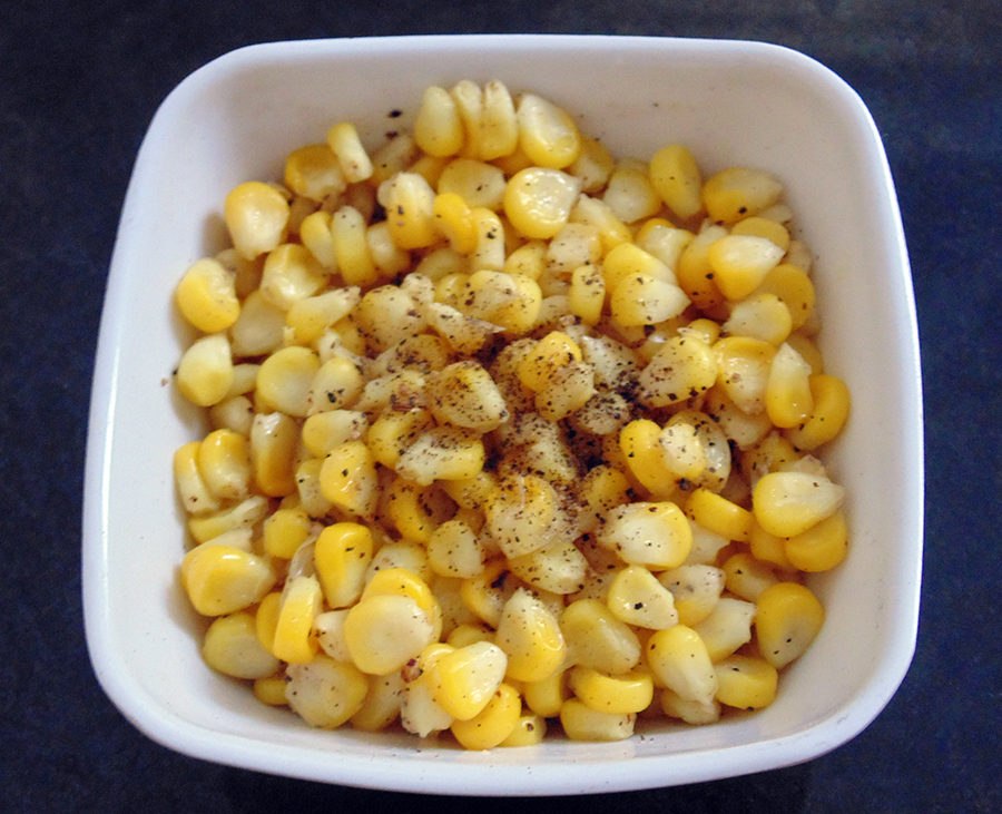 Easy Butter Corn