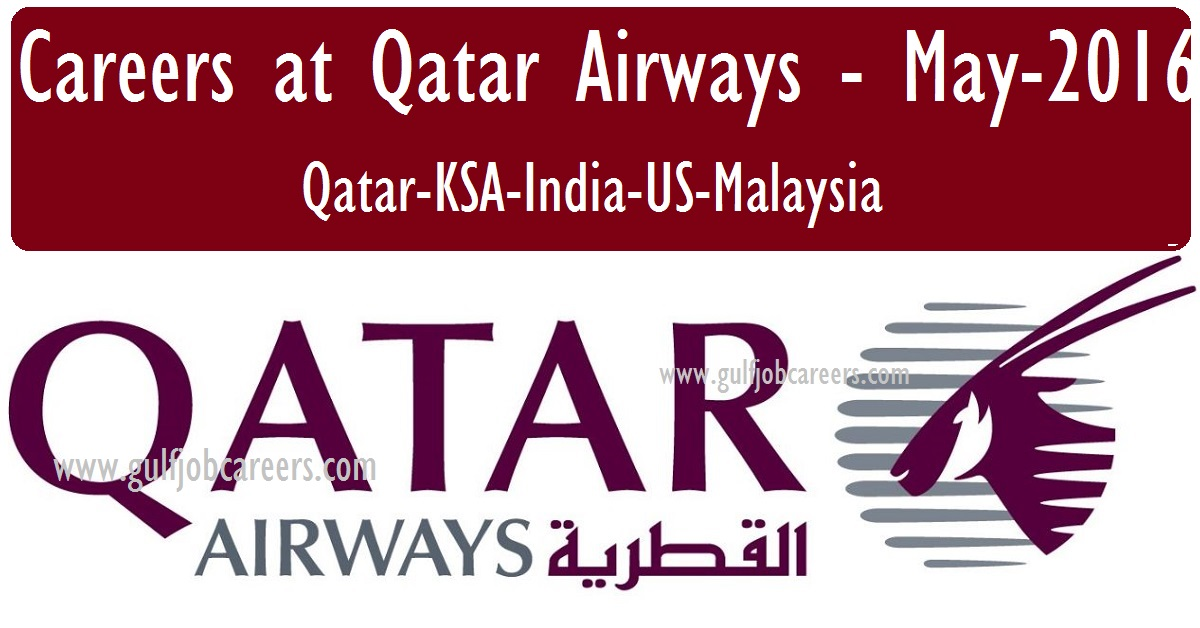 Qatar Airways Careers Current Opportunities Exciting Careers At Qatar Airways Worldwide Jobs