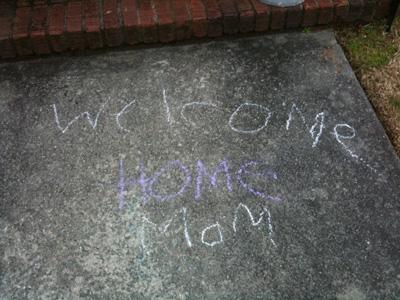 Welcome Home Mom