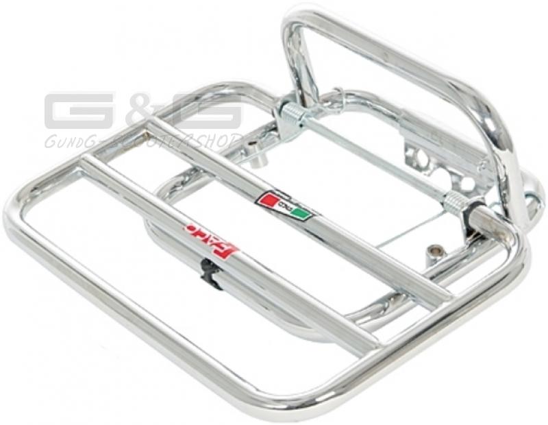 Luggage Rack Rear Faco Chrome For Piaggio Vespa Lx 50 125