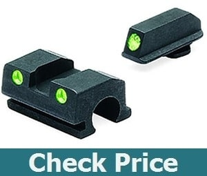 Meprolight Tru-Dot Night Sight for Walther P-99 9mm and .40 Compact Pistols and .45 Full Size Pistols