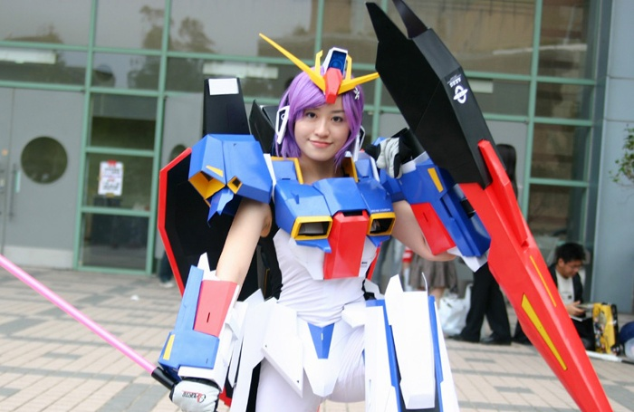 Robot Girl Wallpaper Cosplay Gundam Girls Photo Report No 18 Big Or Wallpaper