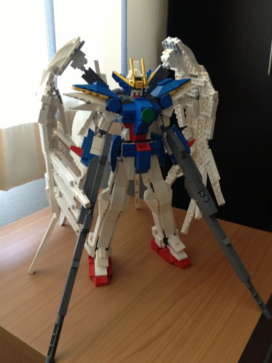 Anime Sniper Wallpaper Lego Wing Gundam Zero Amp Strike Freedom Photoreview No