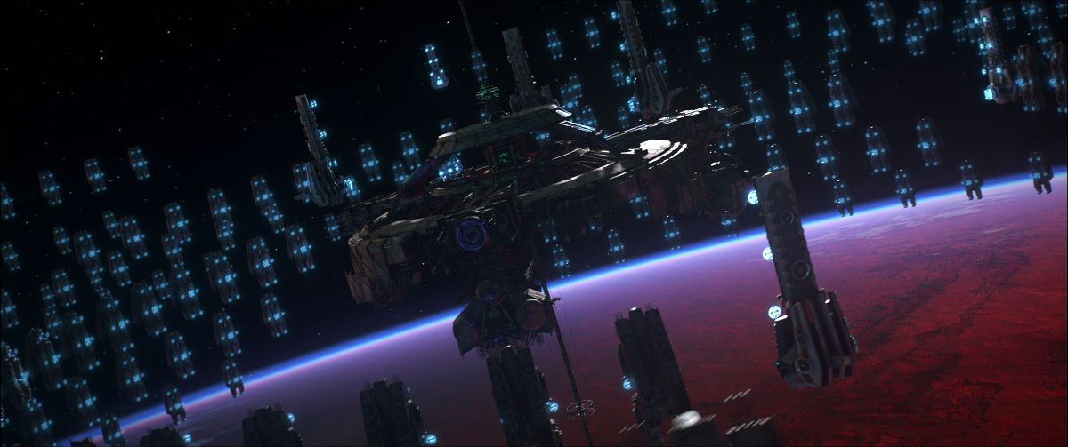 3d Earth Wallpaper Hd Space Pirate Captain Harlock New Trailer No 43