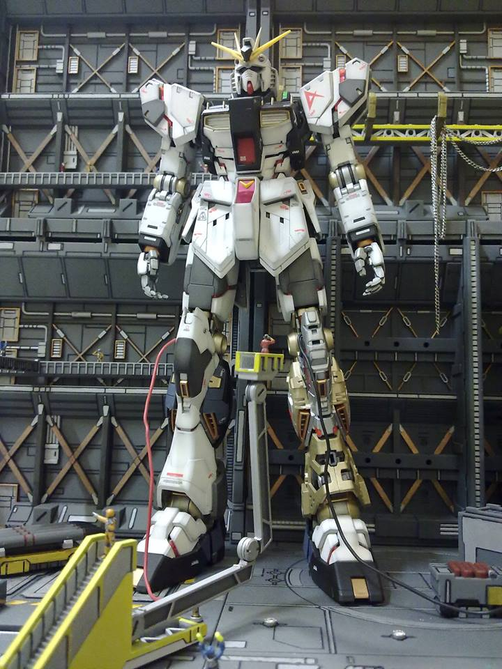 Custom Wallpaper 3d 1 100 Gunpla Diorama Once Upon A Time In Relic Factory