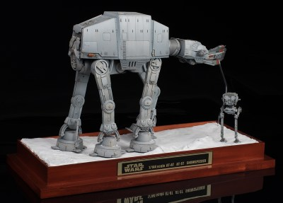 [schizophonic9's WORK REVIEW] Bandai x Star Wars DIORAMA 1/144 scale: AT-AT AT-ST and ...