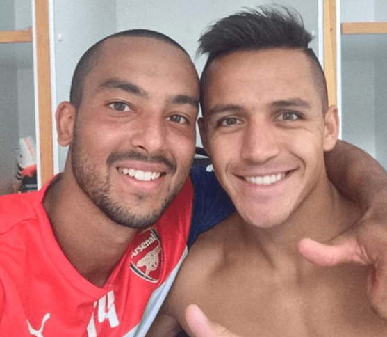 Walcott and Sanchez could be a devastating pair to have on the wings