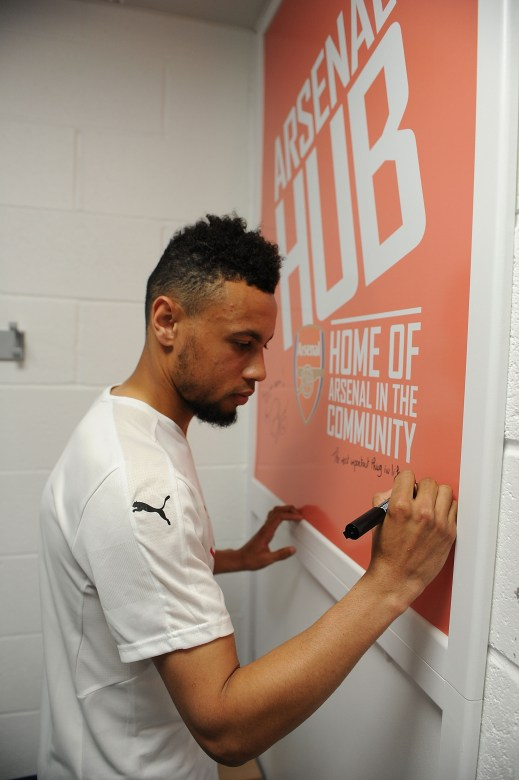 Coq leaves his mark at the Hub as he has on this season