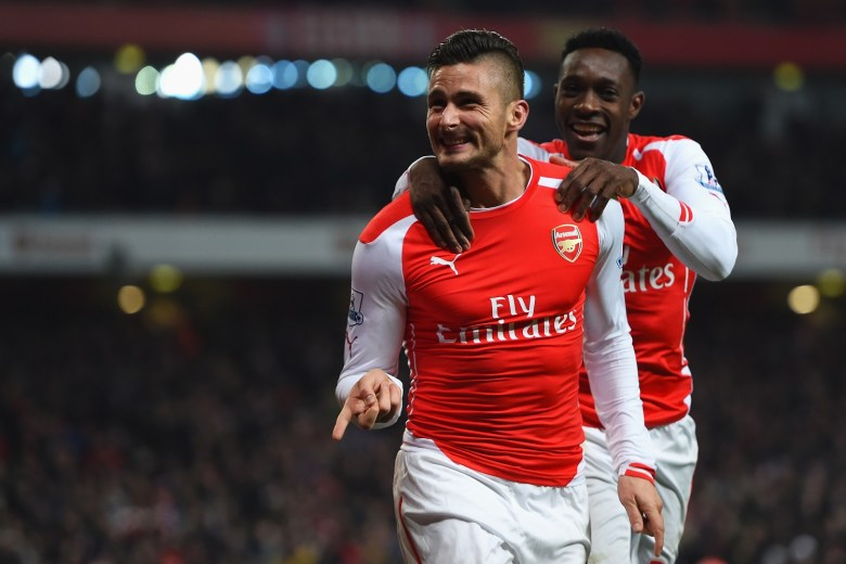 Both Giroud and Welbeck are better options as CF