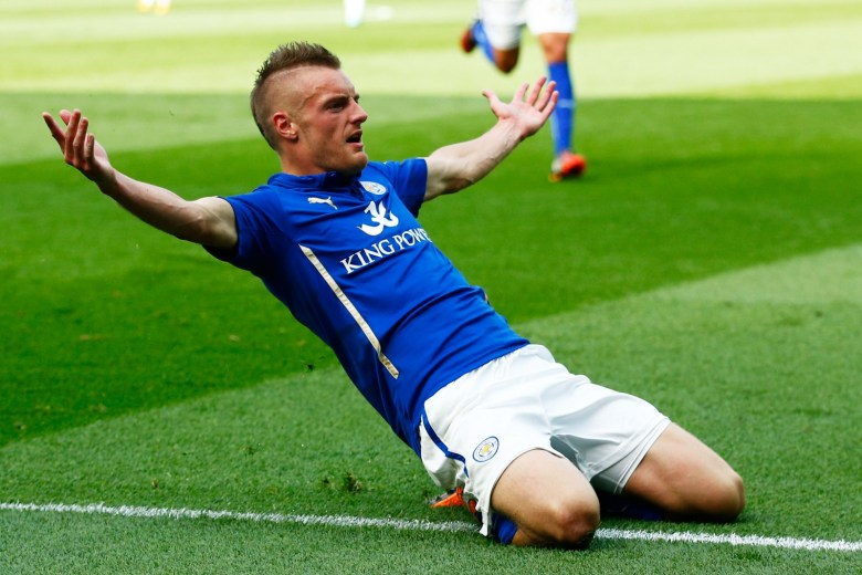 Competition for Jamie Vardy?