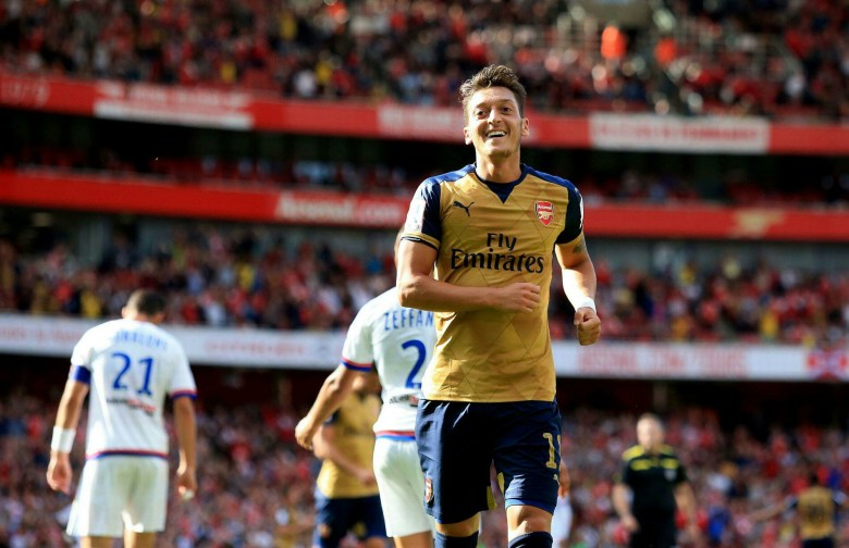 Mesut Ozil benefits from a more direct approach