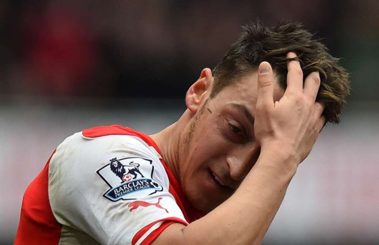 Ozil-exhausted