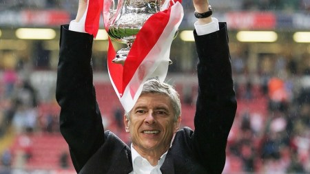 Imagine the criticism level if Wenger hadn't just won two of these in a row...