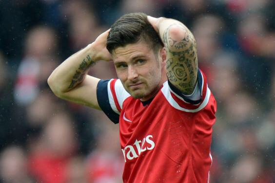 Giroud doesn't deserve all the blame...