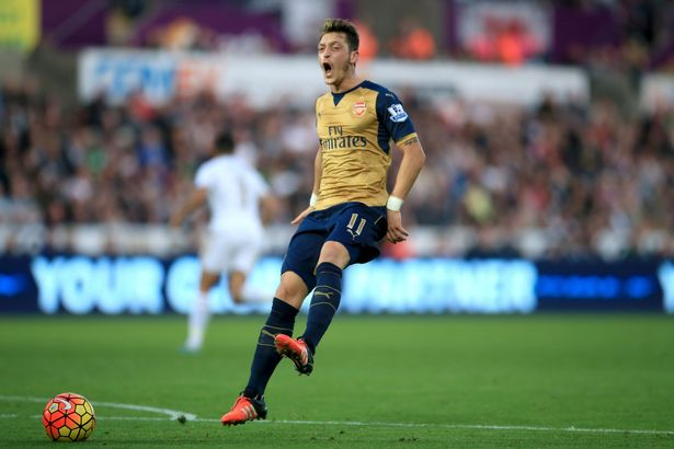 A frustrated first half Mesut