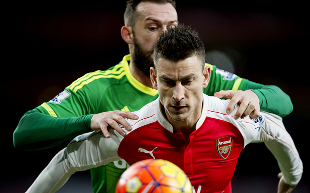 Another assured display from Koscielny