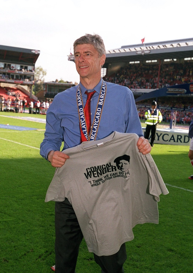 Comical Wenger? Underestimate him so he can embarrass you!