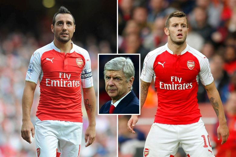 Wenger needs fit Santi and Jack