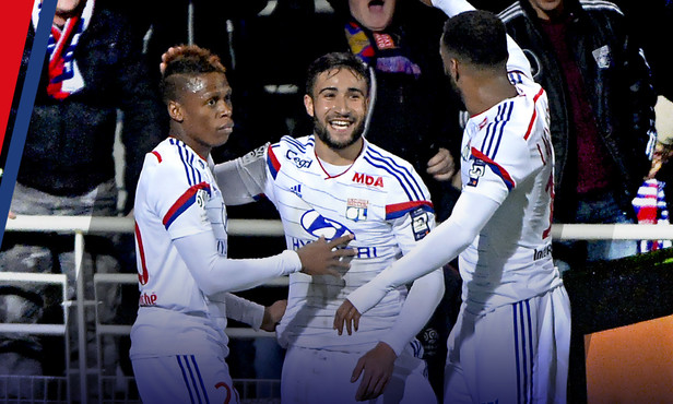 Lyon boasted the best attacking trio in France