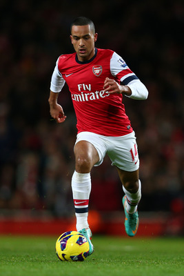 Walcott's flare and electric pace will worry defenders.
