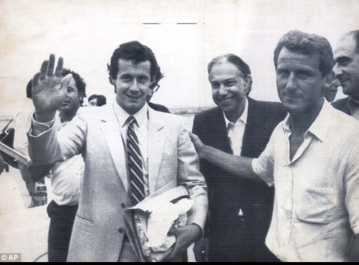 Brady is welcomed to Juventus by manager Giovanni Trappatoni