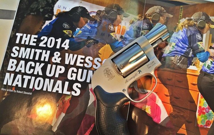 Smith & Wesson 638 two page right side