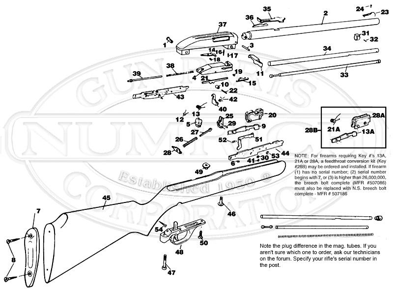 marlin model 60 parts schematic