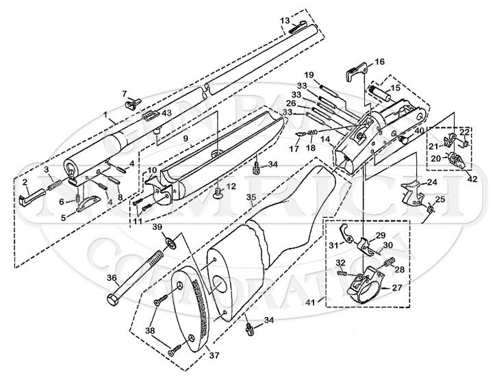 Tracker II Slug Gun Schematic Numrich