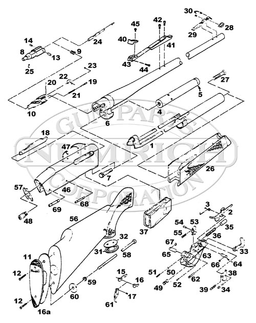 crosman 2100 classic parts diagram
