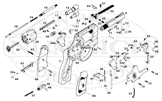 taurus .38 special schematics