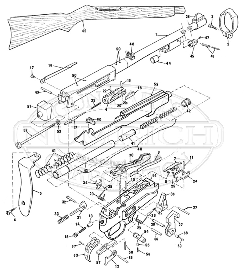 ruger 10 22 parts diagram