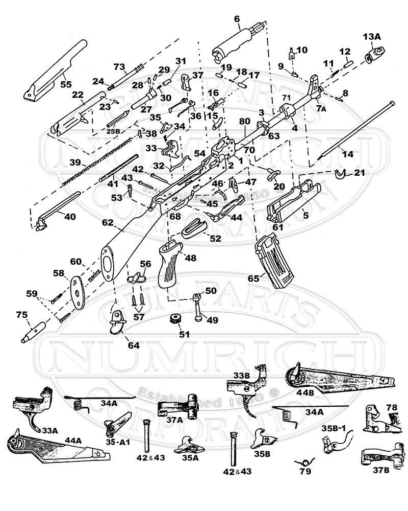 ak47 parts diagram