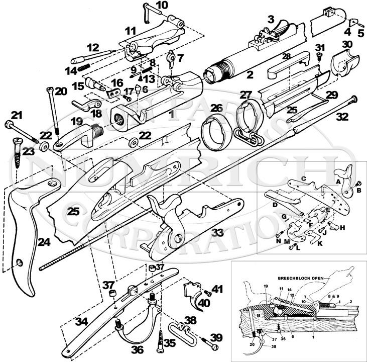 springfield trapdoor schematic