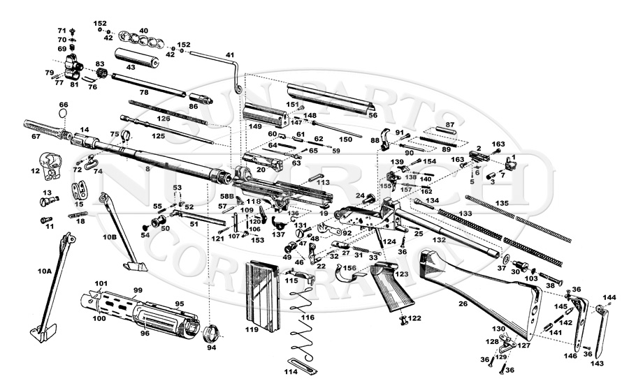 pistol parts diagram semi automatic pistol parts revolver gun part