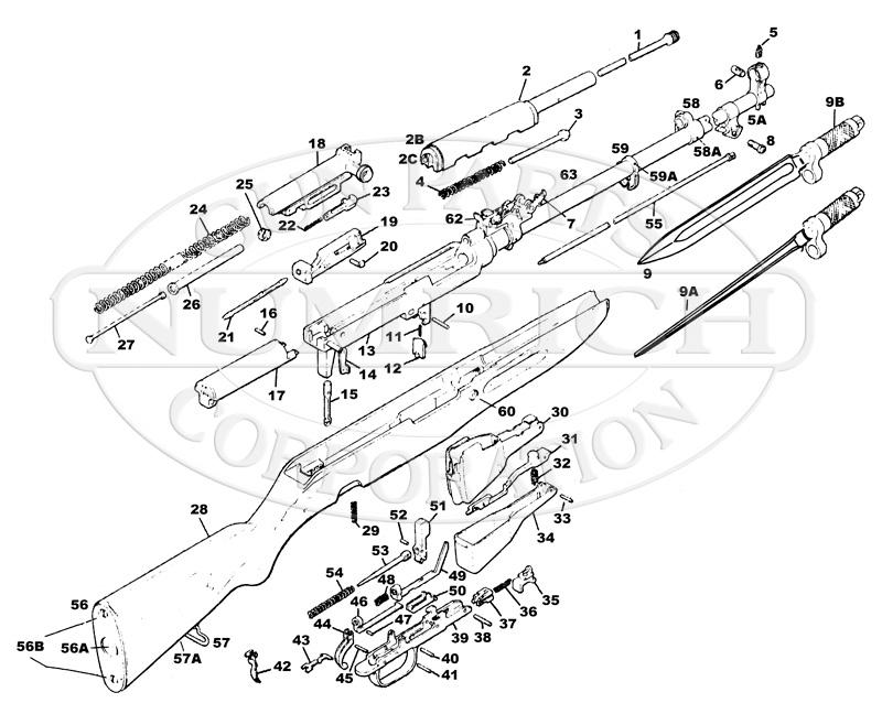 sks schematics and parts list