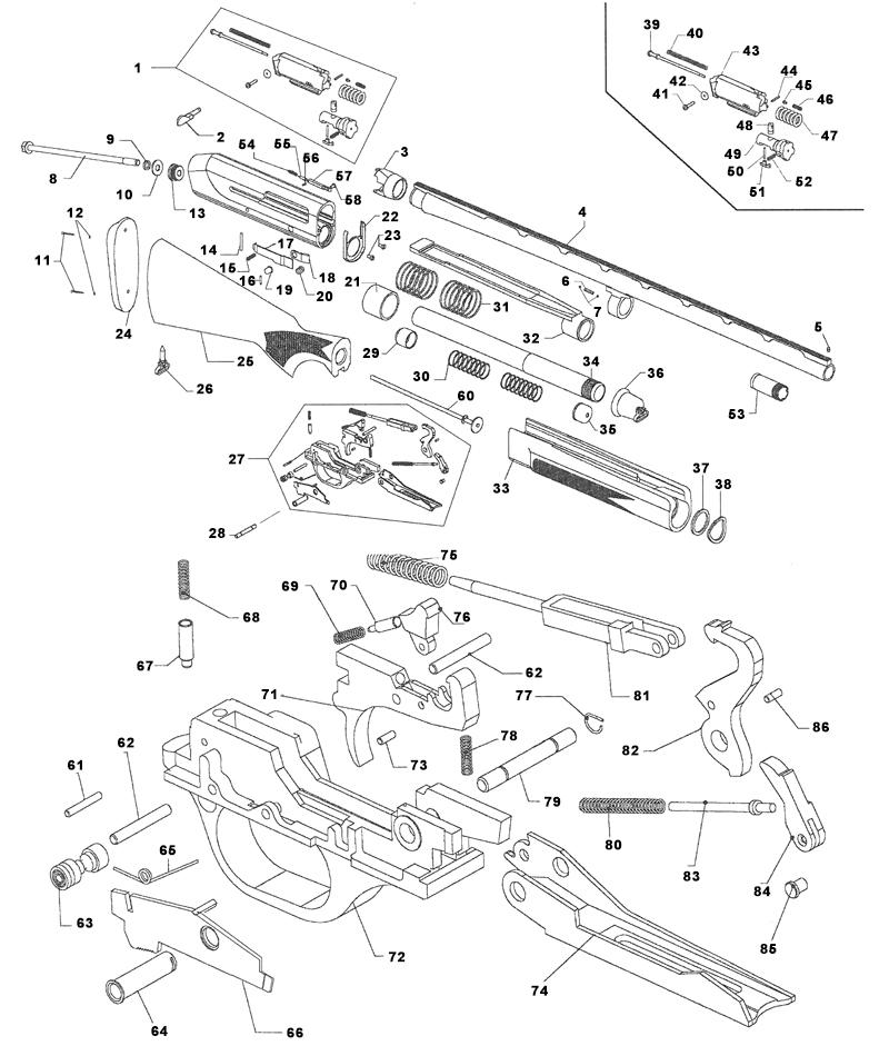 stoeger 2000 parts diagram car interior design